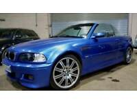 BMW M3 E46 INDIVIDUAL SMG CONVERTIBLE TOP SPEC (PART EXCHANGE WELCOME)
