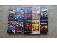 10 VHS Tapes (Category 15 &18)