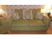 3 piece suite and footstool for sale