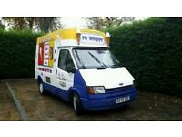 FORD TRANSIT SOFT ICE CREAM VAN.. GOOD VAN NEEDS TLC