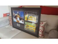 Usain Bolt Signed/Framed Photo Display Autograph World Championships