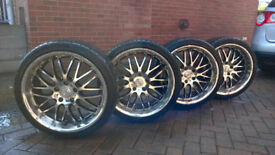"Dotz Alloy Wheels 19"" (from BMW)"