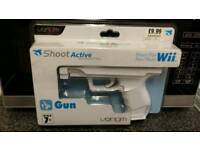 Wii game remote gun