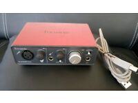 Focusrite Scarlett Solo (1st gen) USB audio interface