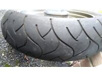 kawasaki z750s rear wheel for sale