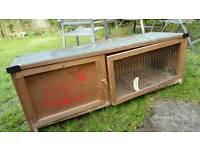 Guinea pig / rabbit hutch