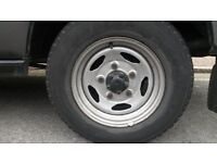 land rover wheels and tyrea good condition £150 set of 4