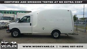 2009 GMC Savana G3500 Unicell Bubble Van - Off Lease