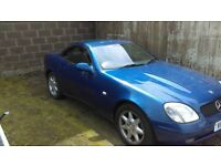 Mercedes slk 230 breaking