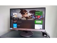 23 inch AOC widescreen IPS full HD computer monitor. Display Port, 2xHDMI, VGA. Built-in speakers