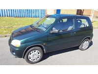 2002 suzuki ingis gl automatic .79k moted until December