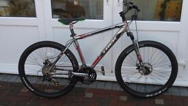 treck 3500 mountain bike 21 gears