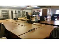 Large selction of office desks available NEW& SECOND HAND