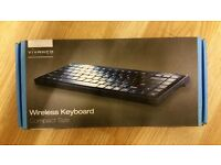 Vivanco Black Compact Wireless Keyboard With Mini USB Receiver