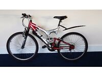Full suspension Apollo bike - MTB