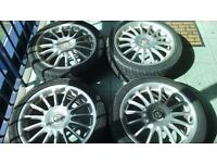 "X4 17 "" MG ALLOYS"