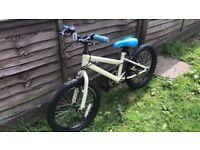 18 inch Unisex Apollo Bike, suit 6 - 8 years, £25