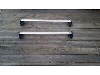 Genuine Vauxhall Vectra roof rack. 2003 onwards. Keys included.