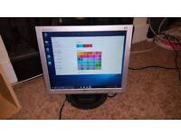 "LG Flatron Monitor 17"""