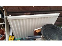 Mirrors/broken iron/board/radiator