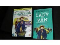 Lady in The Van DVD and Paperback