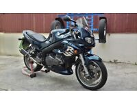Triumph Sprint RS 955i. 12 months mot. Very presentable.