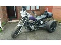 Trike vf1100 magna project