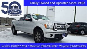 2011 Ford F-150 Lariat 4X4 | TOW PKG | Leather