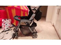 Mamas & Papas Frankie Pushchair with Rain Cover and Cosy Toes Warmer