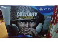 Rare Limited Edition PS4 Call Of Duty World War 2