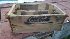 Wooden crate. Ideal wedding decoration