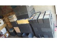 joblot of cd's. approx 6-7 thousand. maybe more. ideal for carboots/traders etc