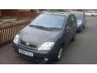 RENAULT MEGANE SCENIC 2001 FOR SPARES AND REPAIRS