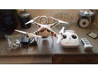Dji phantom 2 drone quadcopter