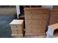 Solid pine drawers large set and small set. Not flat pack! Quality furniture