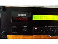 *** Yamaha TX802 Sound Module FM Tone Generator Vintage DX7 II ***