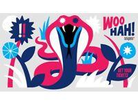 WOO HAH Festival 2018!