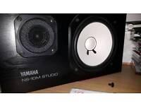 Legendary Yamaha NS10M Studio Monitors