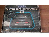 Sega Mega Drive 2 Boxed with sonic the hedgehog