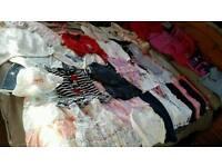 Girls clothing bundle age 12-18 months