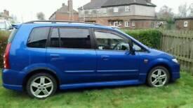 Mazda premacy 2.0 sport 2003 Blue family car