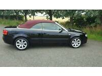Excellent example of audi a4 140 diesel convertible