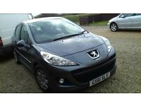 Peugeot access 207 61 reg 2011 hach back 1.4 petrol in grey