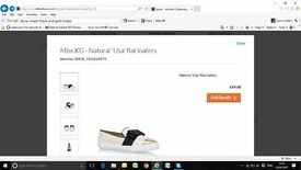 "Miss KG Natural ""Lisa"" Flat Loafers"