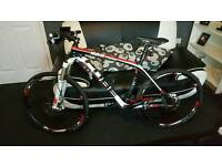 18 inch Carbon fibre CUBE BIKE