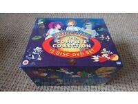 Futurama DVDs seasons 1 - 4