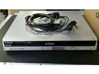 Panasonic DMR-ES10 DVD Recorder/Player complete with remote mains cable etc.