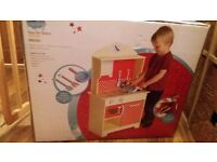 Wilko wooden kitchen role play. Brand new in box