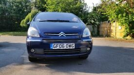 Citroen xsara picasso 1.6 diesel, exclusive, manual, 2006, Full service history, low mileage!