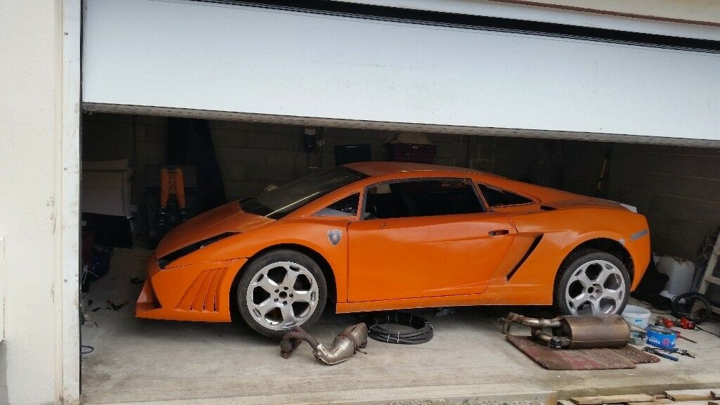 Lamborghini Gallardo Kitcar Unfinished Project Mr2 Lambo Replica